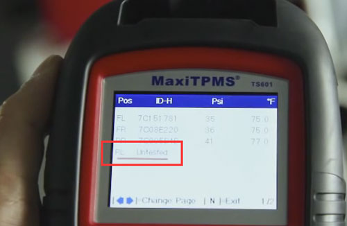 autel maxitpms ts601 tpms mx sensors 11