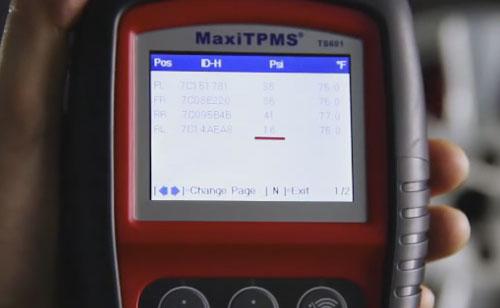 autel maxitpms ts601 tpms mx sensors 7