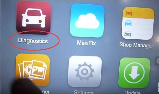 Autel MaxiSYS Pro MS908P Elite Vehicle Diagnostic System
